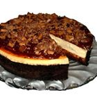 Toffee Chunk Cheesecake - This takes a little time to put together but the cake is the reward all in itself!