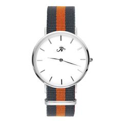 Woodbine - Silver Timepiece with NATO Strap – Joseph Nogucci