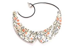 Collar Necklace Ceramic  big bold oversize by StudioLeanne on Etsy, $60.00