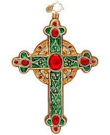 Christopher Radko Traditional Rood Ornament