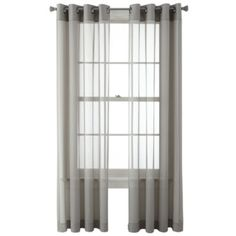 Studio Dakota Two Tone Lined Grommet Top Curtain Panel