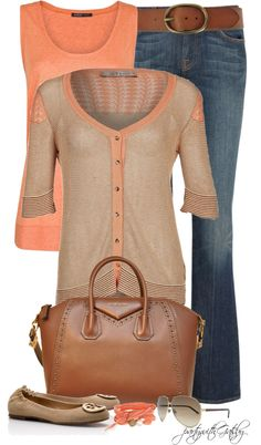 A fashion look from April 2013 featuring Nell & Me cardigans, Mango tops and 7 For All Mankind jeans. Browse and shop related looks. Cute Fashion, Fashion Looks, Fashion Outfits, Womens Fashion, Look Casual, Casual Chic, Ropa Semi Formal, Casual Outfits, Cute Outfits
