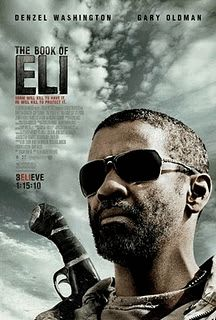 Denzel Washington is wearing the Oakley Inmate Sunglass in movie The Book Of Eli