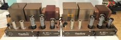 Pair Armstrong A 10 MKII Valve Tube Amplifiers from England 220 240V 50 60Hz | eBay