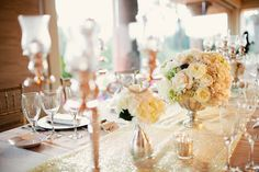 Elegant Gold and White Wedding 2 | photography by http://ashleyrosephotography.com/