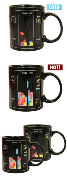 Tetris Heat Changing Mug ♥
