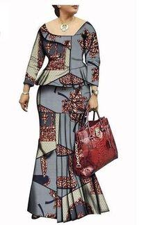 Smart African Dress