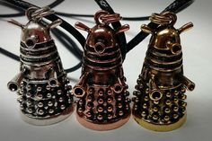 The best Dalek Pendent you've ever seen. by GeekIsAVerb on Etsy>Seeing this EXTERMINATES any doubts that i need a tiny Dalek pendent. Dr Who, Doctor Who Dalek, Fandoms, Matt Smith, Geek Out, David Tennant, Tardis, Geek Stuff, Fancy