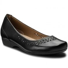 Félcipő CLARKS - Blanche Garryn 261243814 Black Leather