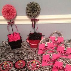 animal+print+baby+shower | Zebra Print Party Decor Birrhday Party baby Shower bridal Shower