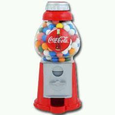 Coca Cola gumball machine...LC