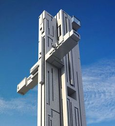 By adopting the shape of a cross for his design, Maurice Shapero's proposal for a new skyscraper in Liverpool, UK, is sure to raise eyebrows. Tower Building, Building Structure, Building Design, Beautiful Architecture, Interior Architecture, Interior Design, Wooden Skyscraper, Glass Facades, Modern Buildings