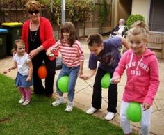 16 activities for kids outdoor party