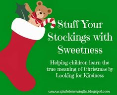 PreKandKSharing: Stuff Your Stockings with Sweetness! Could do his at home with my boys Conscious Discipline, Christmas Time, Christmas Ornaments, True Meaning Of Christmas, Love Holidays, Preschool Christmas, Helping Children, Kids Learning, Stockings