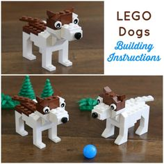 Straightforward Lego Toys Secrets Simplified - Hobby Tips Lego Projects, Animal Projects, Crafts For Boys, Diy For Kids, Lego Dog, Lego Hogwarts, Lego Challenge, Lego Animals, Lego Activities