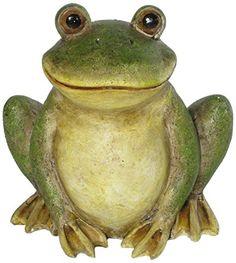 A-Deko Frosch A-Deko  aus Keramik, etwa 30cm hoch, ein echter Haus-und Gartengenosse!