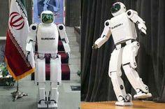 حضور ربات انساننمای سورنا ایران در نمایشگاه آلمان