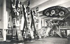 EL Lissitsky, exhibition design for Pressa, 1928.