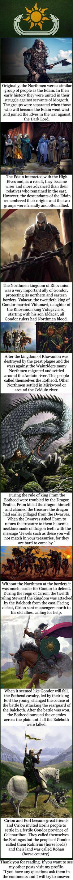 Tolkien lore - The Northmen