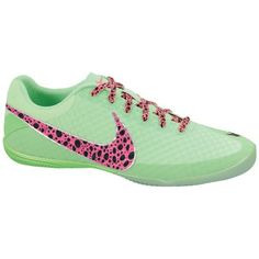 Nike Elastico Finale II Indoor Soccer Shoes - Fresh Mint/Neo Lime/Pink Flash #scoreboardsports