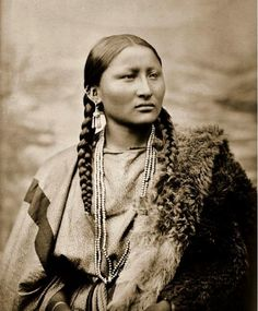 "Native Americans Indians ""Cheyenne Woman"" ( Pretty Nose) 1878 photographer ~ L.A. Huffman"