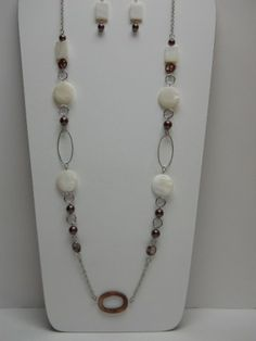 Unique Jewelry - Handcrafted Gemstone Designer Necklace with Tibetan focal for Women | by Anne Vaughan Designer Jewelry #designerjewelry