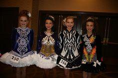13-14 Girls side stage- Katherine Stuntz, Gavina Zuccarello, Natalie Vestergom, Sarah Holland