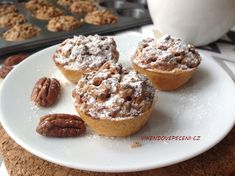 No Bake Pies, Finger Foods, Baked Goods, Cookie Recipes, Cheesecake, Cupcakes, Sweets, Cookies, Baking