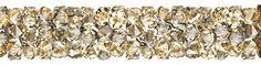 SWAROVSKI® 5951 Fine Rocks Tube (001 GSHA Crystal Gold Shadow) How To Dry Basil, Innovation, Tube, Swarovski, Rocks, Spring Summer, Herbs, Crystals, Gold