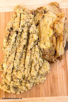 salata-turceasca-de-vinete-cu-iaurt-1 Spanakopita, Fără Gluten, Asparagus, Food And Drink, Ice Cream, Meat, Chicken, Vegetables, Cooking