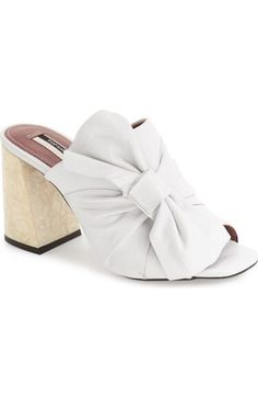 160e235adc35 Topshop  Prosecco  Square Toe Mule (Women) available at  Nordstrom Topshop  Shoes