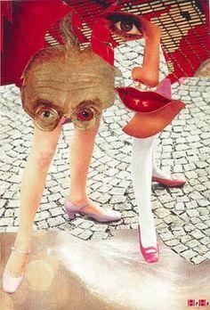 Hannah Höch (Gotha, 1889 - Berlín, My very favorite collage artist. Dada Collage, Collage Kunst, Art Du Collage, Collage Artists, Mixed Media Collage, Digital Collage, Collages, Photomontage, Dadaism Art