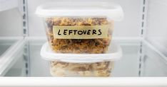 A guide to leftovers: How to store them safely and when to toss them