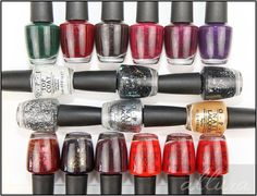 OPI Gwen Stefani Holiday 2014 Collection Photos and Swatches