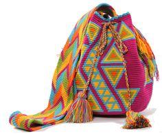 Malibu - Mochila Bag Tapestry Bag, Tapestry Crochet, Hippy Life, Tribal Bags, Boho Bags, Handmade Bags, Bag Sale, My Bags, Free Crochet