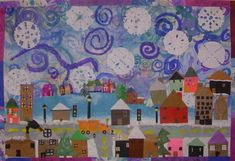 Bulletin Boards to Remember: Winter Mural