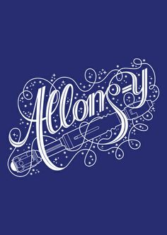 Allons-y! Stretched Canvas