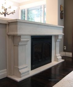 images of fireplace surrounds   Fireplace Mantel 04 Limestone Custom Surround