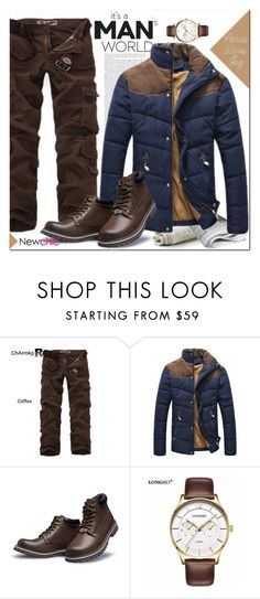 """NEWCHIC!"" by lina-bovary ❤ liked on Polyvore featuring ChArmkpR, Kaiser, men's fashion and menswear"