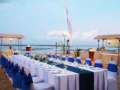 Gorgeous beach wedding reception. Clambake OC, Southern California Wedding Caterer