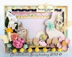 Claralesfleurs 2013 - Carte pour Pâques