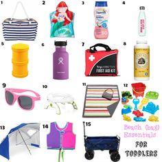 The Littlest Funk blog: Beach Bag Essentials | Toddler Edition