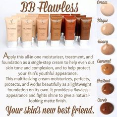 BB Cream always saves the day! Moisturizer, treatment and foundation in one. Feels great on the skin!! http://www.youniqueproducts.com/MamaORear