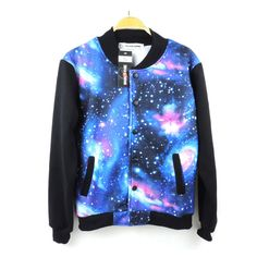 "Fashion women harajuku galaxy velvet jacket Cute Kawaii Harajuku Fashion Clothing & Accessories Website. Sponsorship Review & Affiliate Program opening!of what I'm wearing,i do wish i had these becuze these r just plain fashion use this coupon code ""cute8"" to get all 10% off shop now for lowest price."