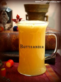 Butterbier - inspiriert von der Buchserie um Harry Potter #butterbier #butterbeer #hogwarts #lesehunger #bücher