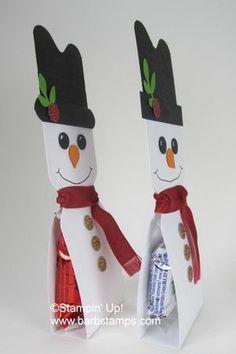Snowman_peppermint_side avec une barre de céréale fait maison....