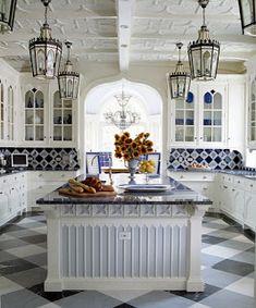 Moorish kitchen design