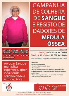 LITORAL CENTRO - COMUNICAÇÃO E IMAGEM: Cecília Santos sofre de Leucemia Mieloide Aguda | ...