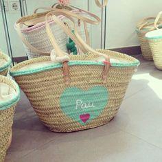 Capazo personalizado Wicker Baskets, Straw Bag, Handmade, Winter, Home Decor, Hampers, Towels, Totes, Sombreros