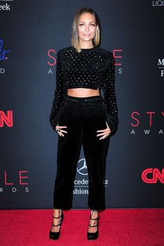 "What Nicole Richie REALLY Thinks About Her '00s Looks  #refinery29  http://www.refinery29.com/2015/07/90043/nicole-richie-personal-style-evolution#slide-11  September, 2013""This was hosting The Style Awards in New York and that was Antonio Berardi I'm wearing, one of my favorite designers. It's really fun if you can find a way to wear pants at an event like that."""